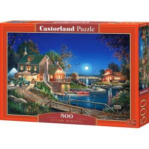 Puzzle Castorland 500 dílků- Vzpomínky na podzim