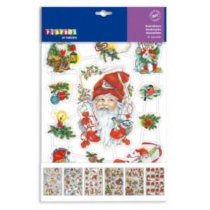 Vánoční záložky, 67 ks