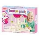 Domek pro panenky- velký box, velikost domku 30x20x45cm