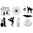 Gelová razítka- Halloween - CS-6*6502