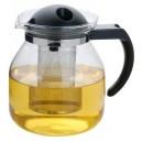 Konvice na čaj 1,5 l se sítkem a plastovým víčkem