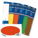 Krepový papír- Oranžový tmavý 50cm x 2,5m