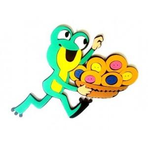 Pěnová dekorace- Žába