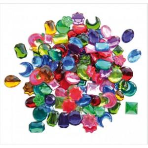 Plastové barevné doplňky 250 ks