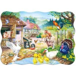 Puzzle 30 dílků - Farma