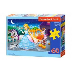 Puzzle 60 dílků - Popelka