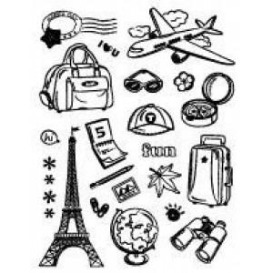 Razítka - Cestování Paříž