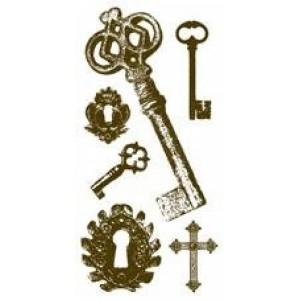 Razítka gelová - Klíče