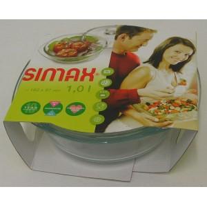 SIMAX Pekáč kulatý 1 l + víko