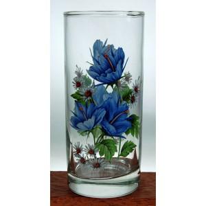 sklenice 250 ml SWISS- sada 6 ks design Chrpy