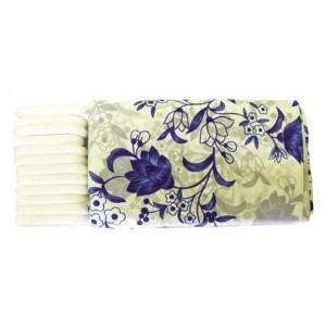 Sprchový závěs, motiv květiny, 180 x 180 cm