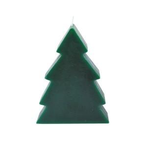 """Svíčka """"vánoční stromek"""" zelená"""