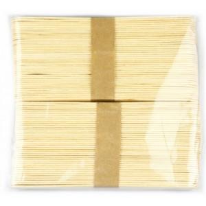 Špachtle přírodní 80 ks - 150 x 18 x 1,5 mm