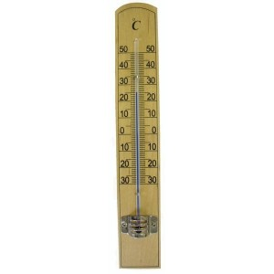 Teploměr pokojový, od - 30 °C do + 50 °C