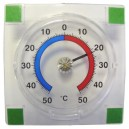 Venkovní teploměr samolepící, od - 50°C do + 50°C