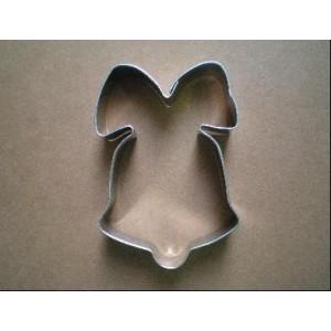 Vykrajovátko, tvar zvon s mašlí, 1 ks