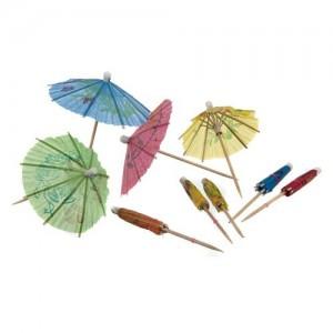 BANQUET Deštníčky ozdobné MY PARTY 10 ks