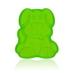 BANQUET Forma silikonová CULINARIA Green 19,5 x 16,3 x 4 cm, pejsek
