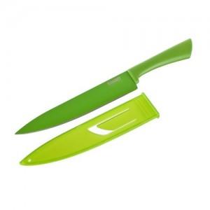 BANQUET Nůž kuchařský s nepřilnavým povrchem FLARET Verde 33,5 cm