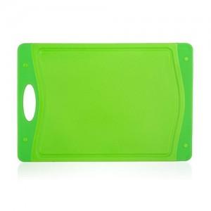 BANQUET Prkénko krájecí plastové DUO Green 29 x 19,5 x 0,85 cm