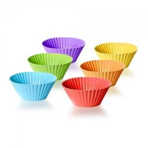 BANQUET Sada silikonových košíčků na pečení CULINARIA 7,5 cm, 6 ks