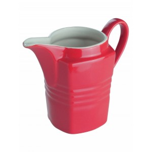 Konvička na mléko, červená