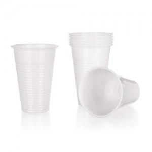BANQUET Kelímky plastové MY PARTY 300 ml, bílé, 12 ks