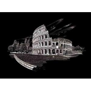 Seškrabovací obrázek- Koloseum Řím