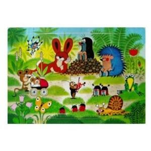 Puzzle krtek- 6 dílků - miminko