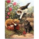 Malování podle čísel- Koťata