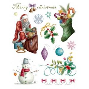 Razítka - Vánoce Merry Christma