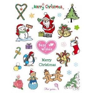 Razítka - Vánoce Merry Christmas for you
