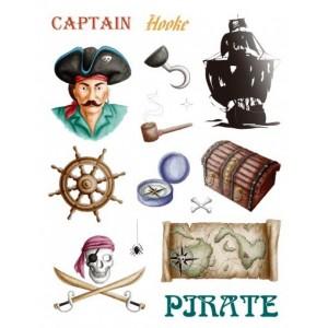 Razítka gelová - pirát