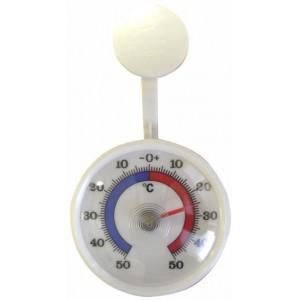 Venkovní teploměr samolepící, od - 50 °C do + 50 °C